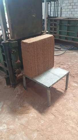 Mesin press serbuk kayu, cocopeat.