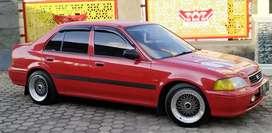 Honda City Red Good Condition