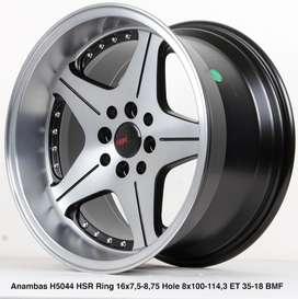type ANAMBAS 5044 HSR R16X75/875 H8X100-114,3 ET35/18 BK/OIL FACE