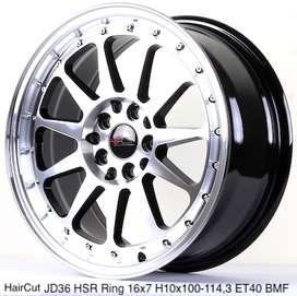 HAIRCUT JD36 HSR R16X7 H10X100-114,3 ET40 BMFL