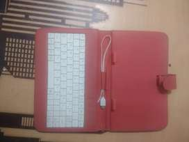 Red tablet cover / tablet keyboard