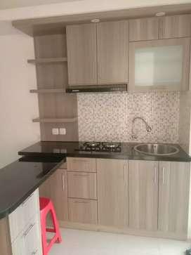 2br UF kitchen set baru siap huni diBassura