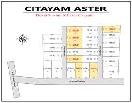 Dekat Jl. Raya BOMANG. Kavling Murah Citayam