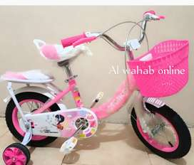 Brand new kids baby pink cycle