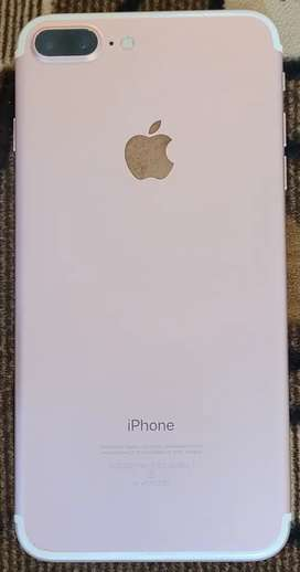 Iphone 7 plus Rose Gold 32Gb in Excellent condition@ 22k