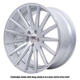 Velg Mobil Mercy dll HSR model TSUKUBA 560 HSR R20X85-95 H5X112 ET42
