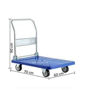 Loading Trolley, Warehouse Trolley, Flatbed Hand Trolley, Loader