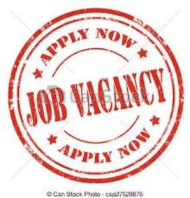 Male and female urgent hiring job vacancy