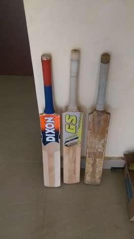 3 tennis ball bats