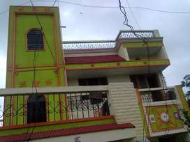 My house to sell with lawn front and backward