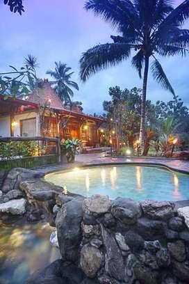 Villa Mewah Lt=1,5 Ha Kawasan Asri, Nyaman Akses JL.Kaliurang Km.17
