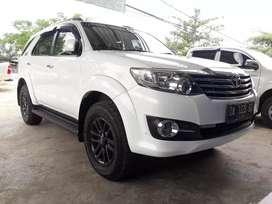 Toyota Fortuner V 4x4 metik thn 2014,akhir