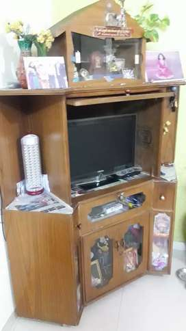 TV Center with showcase