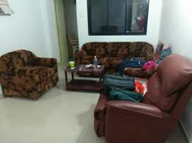 2bhk fully furnished with ac in miramar at 16000