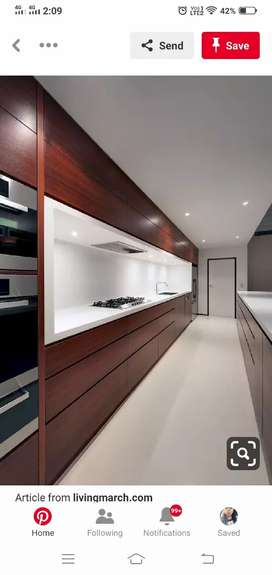 Modular kitchen RS.1150/- SQUARE FEET