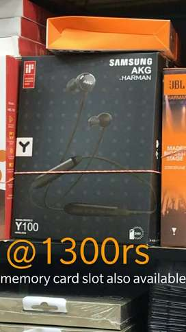 Sporty Headset Akg brand new bluetooth High quality