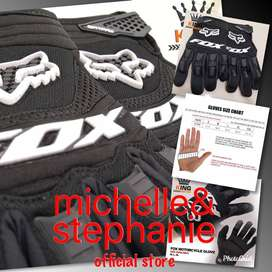 M&S MEN'S STUFF 25 - Fox Sarung Tangan Balap Model Balap (Ready Stock)