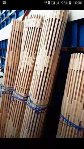 Tirai Rotan enau,Tirai kayu motif,Tikar Rotan lampid,