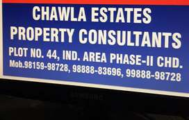 1 kanal plot on b-road prime location for sale in sector 40 b