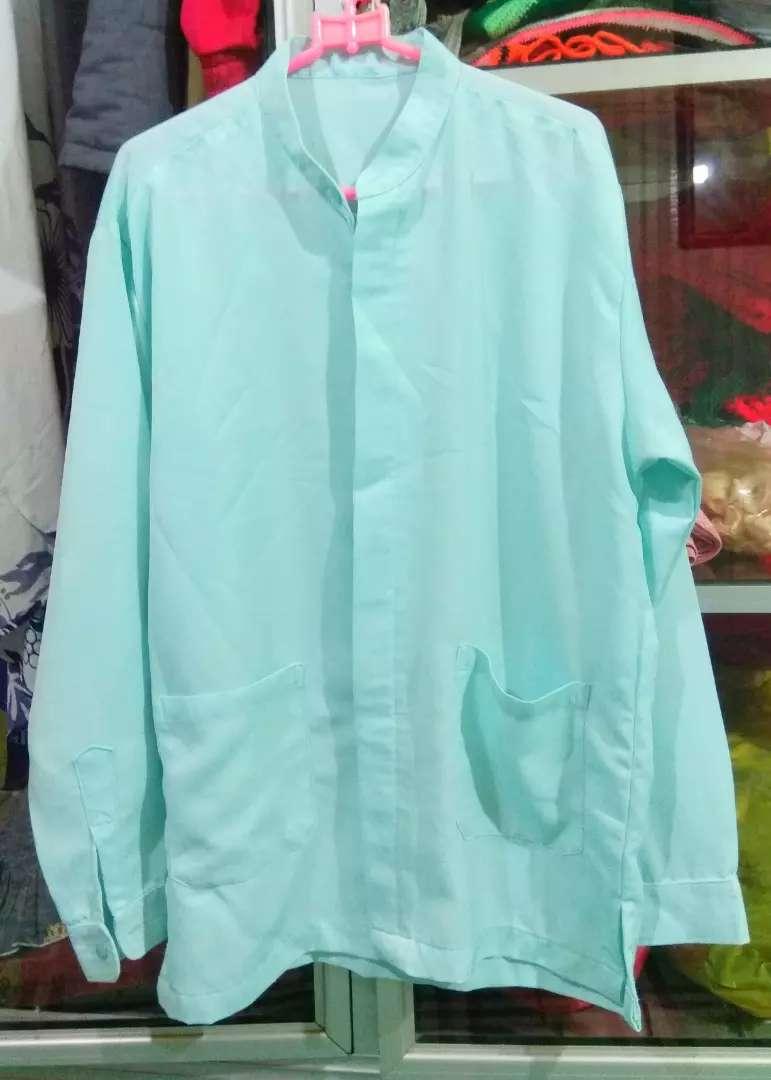 Baju Koko dewasa hijau muda