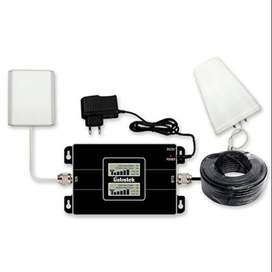 Mobile signal & internet network booster Set with one year warranty
