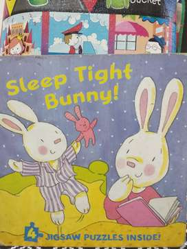 [BOOK SALE] Puzzle Book - Sleep Tight Bunny