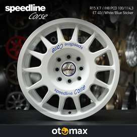 Velg Mobil Speedline Corse Ring 15 H8 White