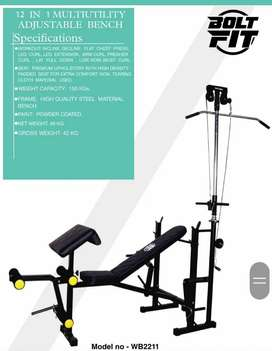 All gym aquipment is available
