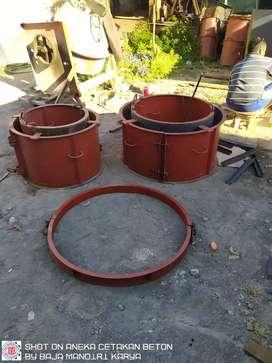 Cetakan buis beton uditch dan boxculvert semua kami kerjakan