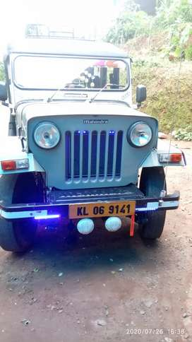 Mahindra Jeep 1996 Diesel 77913 Km Driven
