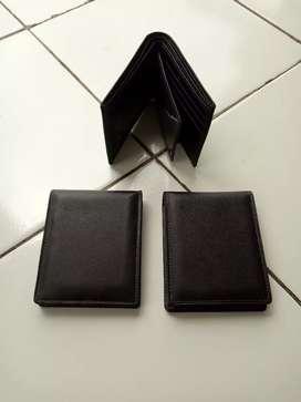 Dompet kulit garut berukuran setandar