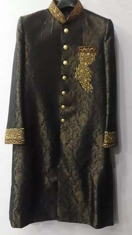 Sherwani For Sale with Designed qula and khusa...