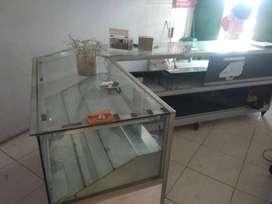 Jual etalase counter
