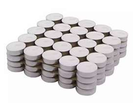Tealight candles White smokeless unscented