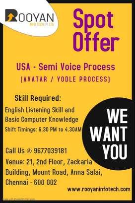 International - Semi Voice Process