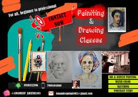 Fine art classes [only for painting and drawing]