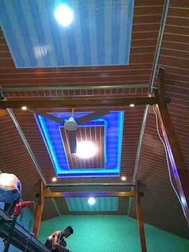 Plafon dan atap baja ringan