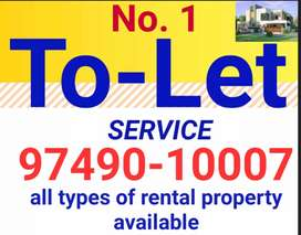 Independent 2 bhk for bachelor accommodation