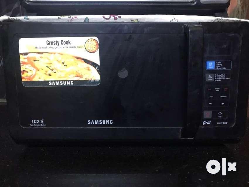 Rarely Used Samsung Microwave 0