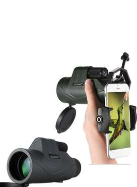 10X Monocular Telescope With Phone Holder And Mini Tripod