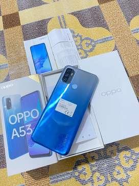 Oppo A53 4/64 lengkap mulus