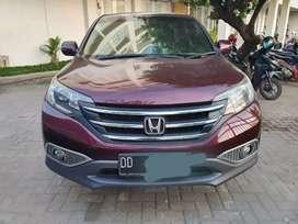 DIJUAL MOBIL CR-V RM3 2WD 2.4 AT CKD Tahun 2013 Warna Merah Tua MUT