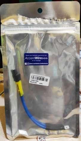 Accent wire (kabel setan) blue series