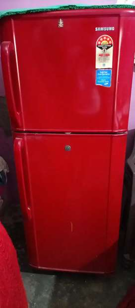 Samsung freeze double door freez red colour
