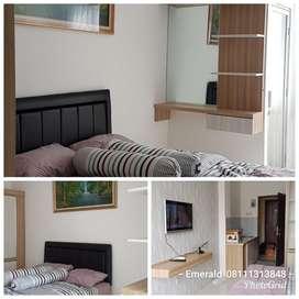 Disewakan Apartemen Emerald Tower Studio furnish Murah, Buah Batu,