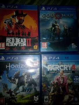 PS4 Games in good condition