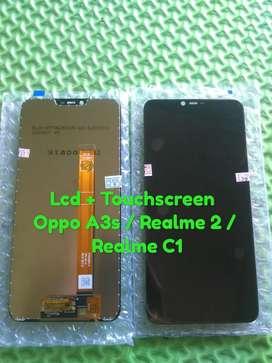 Service hp ganti Lcd + Touchscreen oppo A1K / Realme C2
