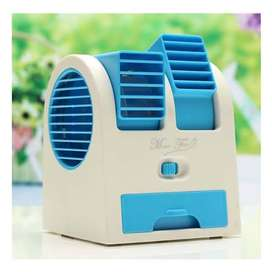 Ac double blower