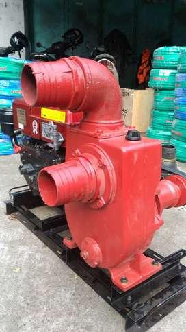 Sawah Aman Pakai Pompa Air Diesel