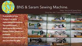 Franchise of a Sewing machine brand is up for sale.